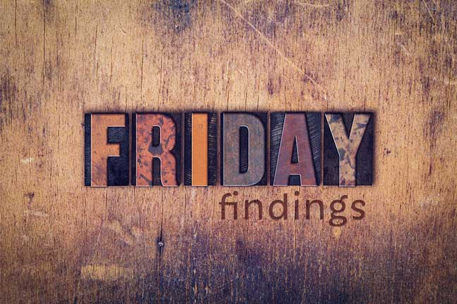 Friday Findings… November 18