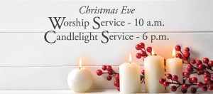 Christmas Eve Service Schedule