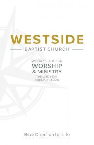 Weekly Guide for Worship and Ministry—February 18