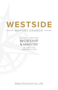 Weekly Guide for Worship and Ministry—February 4