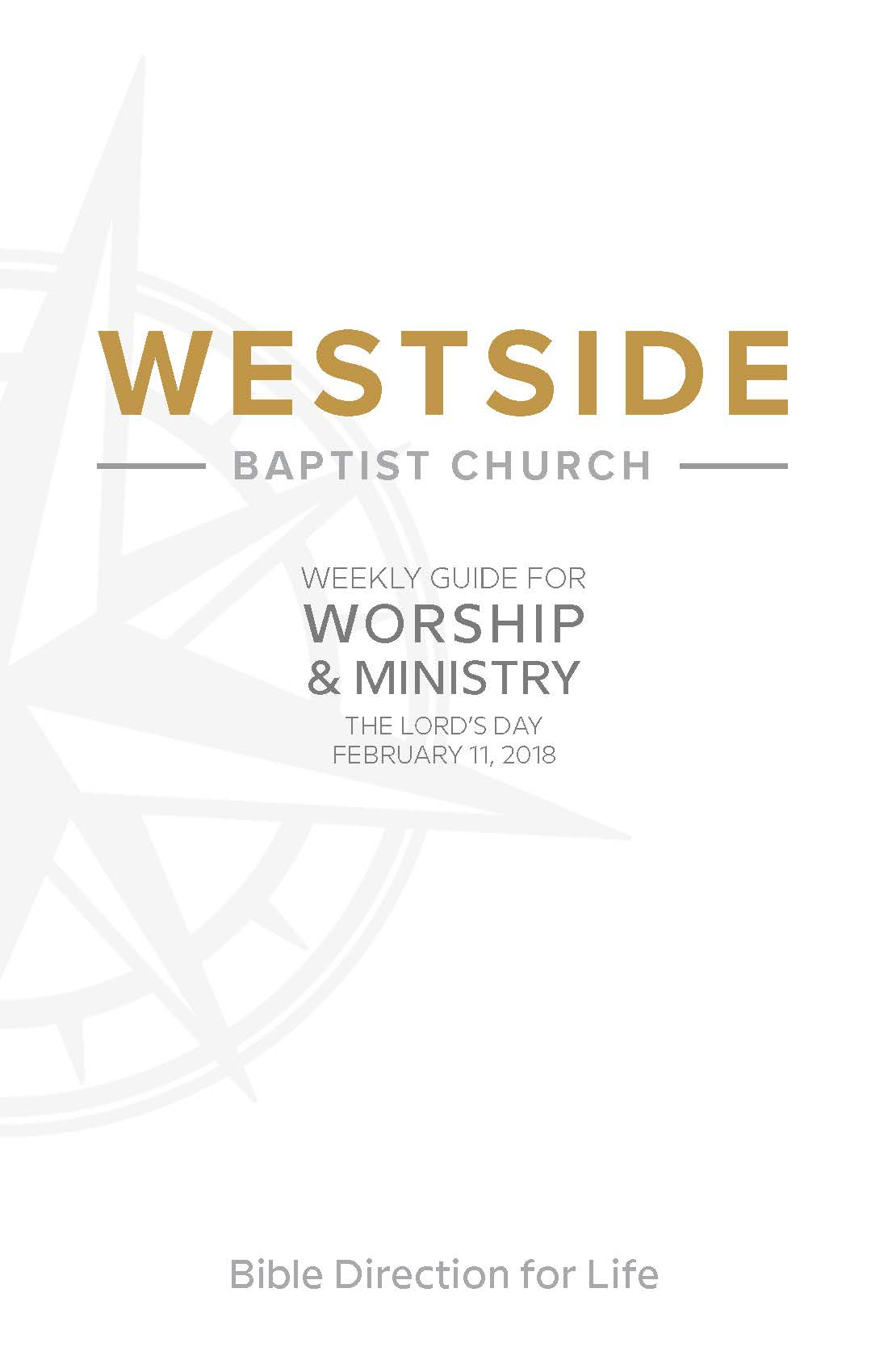 Weekly Guide for Worship and Ministry—February 11