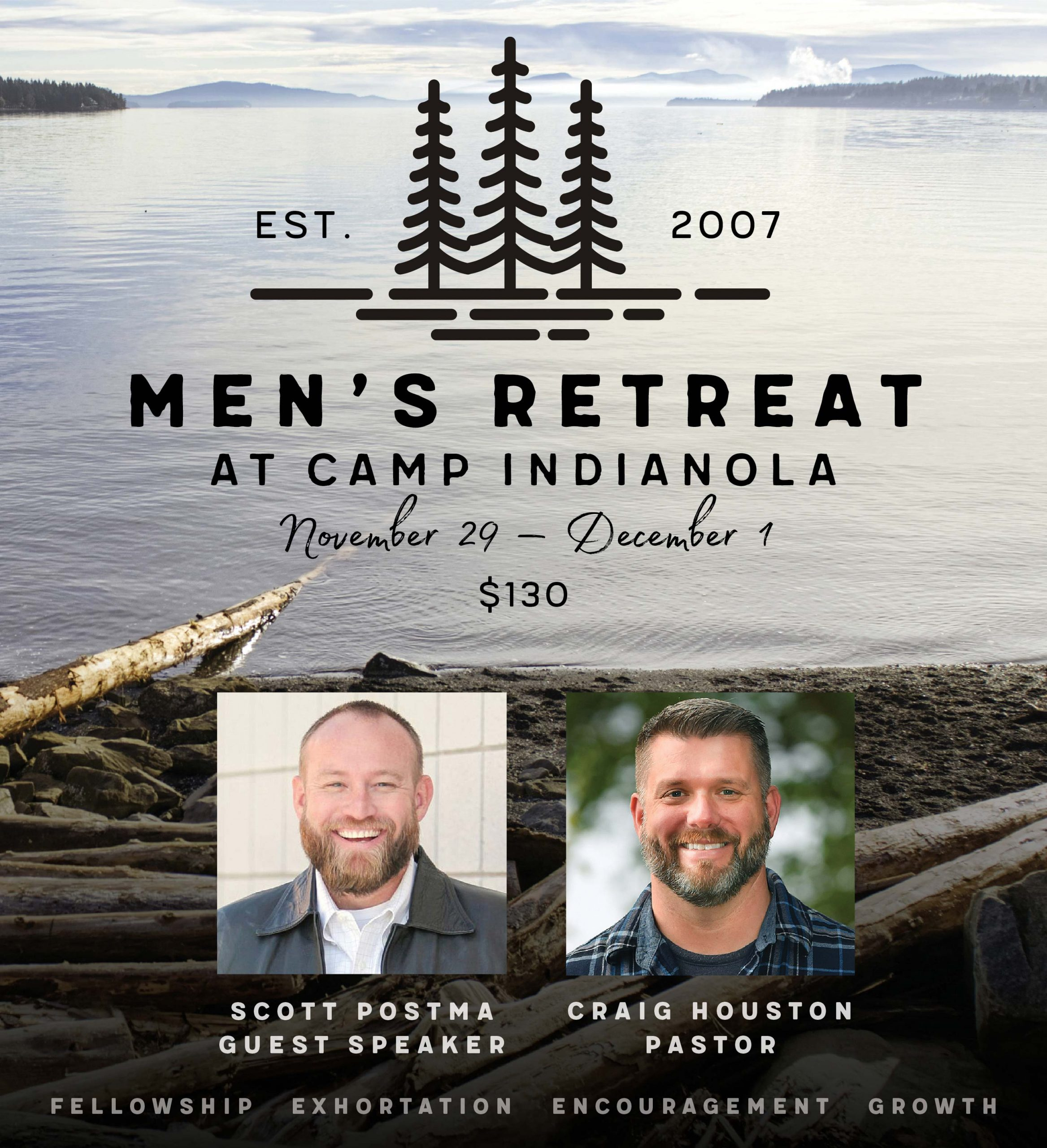 Men's Retreat | November 29–December 1